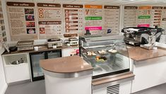 cafe counter display ideas - Google Search