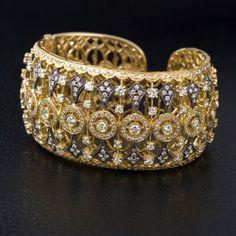 Cuff Bracelet by Dabakarov Designer Jewelry from http://www.rommdiamonds.com/