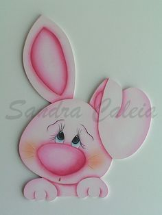 """by Sandra Caleia : """"Pink and blue"""" Foam Crafts, Diy And Crafts, Crafts For Kids, Arts And Crafts, Shower Bebe, Country Paintings, Tole Painting, Paper Cards, Paper Piecing"""