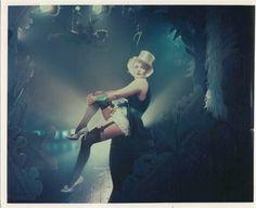 Marilyn Monroe poses as Marlene Dietrich for Richard Avedon.