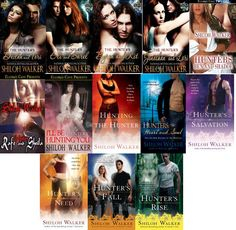 The Hunters series by Shiloh Walker    Reading order list: http//paranormalromancereads.com