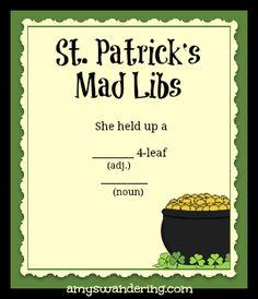 Ideas, Kids Projects, Mothers Day Mad Libs, Mad Lib Ing, Kindergarten ...