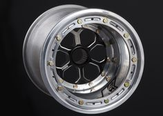"HyperRacing - Online Store - 842-1823 - Keizer 10 x 8 Wheel with HBS Center, 3"" offset, Bead Lock"