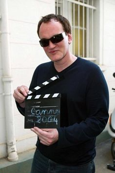 Quentin Tarantino - Cannes, 2004 / Debbye Reis Collection