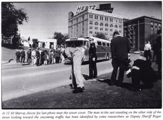 1963-11-22: Dealey Plaza, after the assassination.