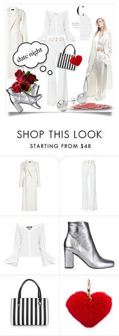 """Hot Date Night Style"" by kari-c ❤ liked on Polyvore featuring Joseph, Balmain, Jacquemus, Yves Saint Laurent, Dolce&Gabbana, Rebecca Minkoff, Jewelonfire and DateNight"