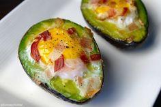 Avocado met ei uit de oven 3