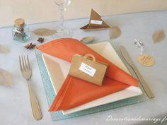 Mariage orchid e et turquoise organiser wedding - Modele de marque place a faire soi meme ...
