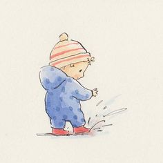 Children's Book Illustration, Watercolor Illustration, Little Girl Illustrations, Little Girl Drawing, Girl Cartoon Characters, Cute Canvas, Wie Macht Man, Pen And Watercolor, Cute Doodles