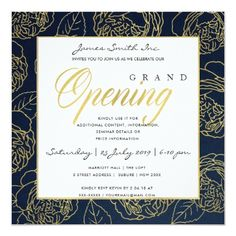 Free Invitation Cards, Elegant Invitations, Zazzle Invitations, Party Invitations, Yearbook Covers, Anniversary Invitations, Fundraising Events, Best Day Ever, Opening Ceremony