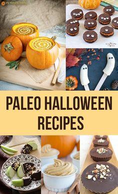 Healthy Paleo Halloween Recipes. The perfect festive treats!