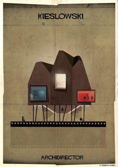 Yönetmenler Mimar olsaydı yaptıkları evler nasıl olurdu?  Krzysztof Kieslowski