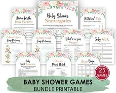 Baby Shower Find The Guest Bingo Baby Bingo Cards Baby | Etsy Baby Shower Jeopardy, Baby Shower Games, Baby Shower Parties, Boy Shower, Shower Box, Shower Favors, Baby Shower Floral, Family Feud Game, Family Games