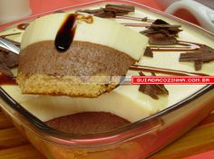 Receita de Torta gelada de chocolate dueto