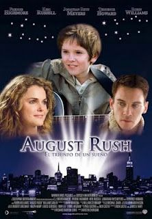 August Rush. I love the soundtrack to this movie!