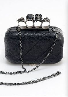141eb2928781 Quilted faux leather and detachable chain strap makes this bag a must!  Handbag measures 6.5