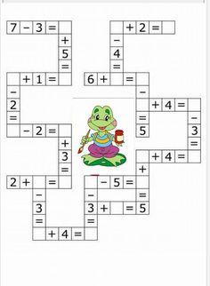 Dyslexia Activities, Kids Math Worksheets, Alphabet Activities, Spanish Activities, Preschool At Home, Preschool Math, Kindergarten Math, Primary Maths Games, Math Games