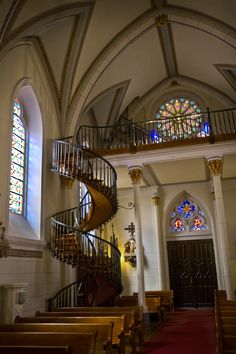 The Inn and Spa at Loretto offers #free self-tours of The #LorettoChapel to guests every week! Enjoy #history and #beauty just a few steps away from your #SantaFe accommodations.   See front desk for details.