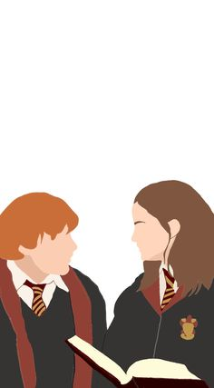 Harry Potter Cartoon, Harry Potter Stickers, Harry Potter Printables, Cute Harry Potter, Harry Potter Illustrations, Harry Potter Drawings, Imprimibles Harry Potter, Harry Potter Background, Ron And Hermione
