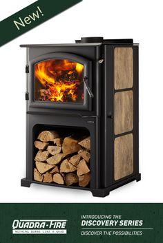 The Discovery Series Wood Stoves Deliver Ful Heat And Efficiency You