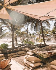 Hotels in tulum mexico, best resorts, tulum mexico resorts, tulum restauran Beach Bars, Bungalows, Mexico Travel, Culture Travel, Beach Trip, Tulum Beach, Outdoor Living, Places To Go, Beautiful Places