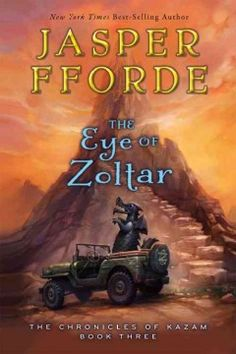 The Eye of Zoltar by Jasper Fforde - Sixteen-year-old Jennifer Strange faces the impossible when the mighty Shandar emerges from his preserved state and presents her with a task that sends her and her companions on a journey from which they may never return.