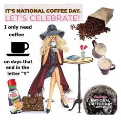 """National Coffee Day"" by clotheshawg ❤ liked on Polyvore featuring interior, interiors, interior design, home, home decor and interior decorating"
