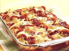 4-Ingredient Pizza Bake - Holidays