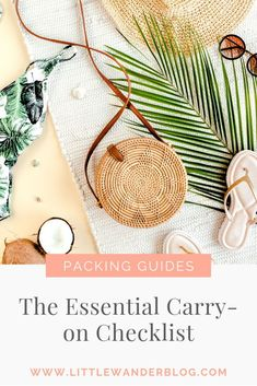The ultimate packing guide for a beach vacation! Whether your headed to Croatia or Tulum this guide has you covered! Read More - beauty, entertainment, tote bag contents and other essentials and tips from an expert traveller ! | PACKING GUIDE | TRAVEL TIPS | LONG HAUL TRAVEL | FLYING TIPS | TRAVEL ADVICE | FEMALE TRAVEL TIPS | #femaletraveltips #traveltips #packingguide #flyingtips #traveladvice Carry On Bag Essentials, Carry On Packing, Packing Tips For Travel, Travel Advice, Travel Essentials, Packing Lists, Travel Hacks, Travel Ideas, Wanderlust Book