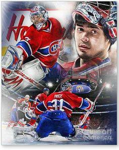 Carey Price......Mike Oulton Goalie Gear, Goalie Mask, Hockey Goalie, Field Hockey, Hockey Teams, Hockey Players, Ice Hockey, Hockey Stuff, Montreal Canadiens