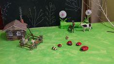De jolies petites coccinelles faites avec des enfants de ma garderie primaire !!🐞🐝facile et rapide !!