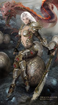 ArtStation - The Dragon Keeper, Shannon Brocas