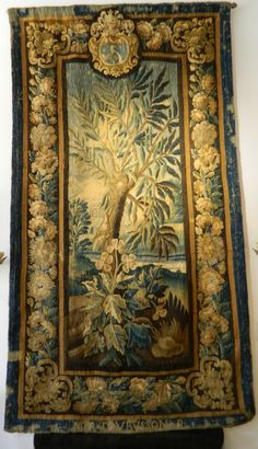 Aubusson Tapestry - Antiques of River Oaks