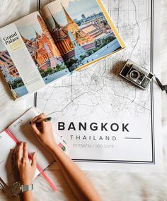 Map poster of Bangkok, Thailand. Print size 50 x 70 cm. Custom black and white map posters online. Mapiful.com.