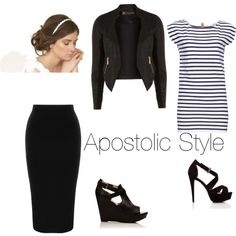 """""""Apostolic style"""" by apostolicgirl85 on Polyvore good for church"""