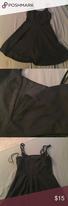 Forever 21 dress Mesh paneled dress with adjustable straps. Never been worn! (New but without the tags) Forever 21 Dresses Mini