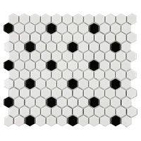 Bobbi Porcelain Tile (Set of 10)