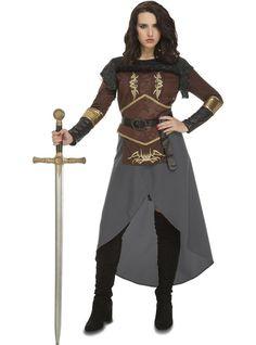 Skov krigerinde kostume til kvinder