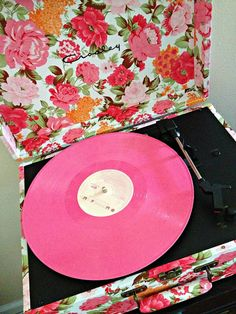 I'm not asking for much.... just a Crosley record player, floral please!