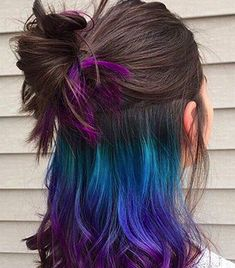 Why Hidden Rainbow Hair Is The Beauty Trend You Need Right Now  SHESAID United…