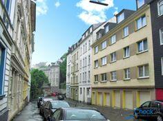 Straßenansicht in Wuppertal-Elberfeld.