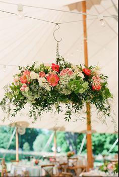 Rustic Bohemian Wedding English Read More And Beautiful Flowers - Beautiful diy white flowers chandelier