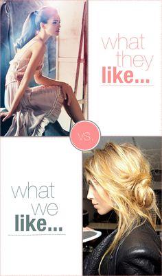 messy hair = <3