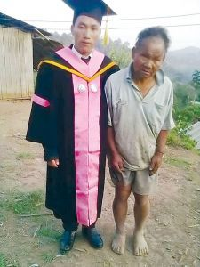 Poor father supports his son until graduation ~ KhmerLikeU