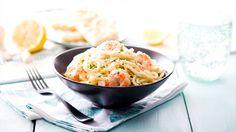 No es necesario pasar horas en la cocina para crear un delicioso platillo, nuestra pasta con camarones están listos en solo 30 minutos!