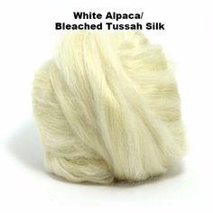 Paradise Fibers Alpaca/Tussah Silk Tops 4oz bundles