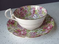 tea cup and saucer sets | vintage English tea cup and saucer set,