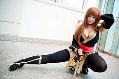 Kasumi 'Black' Dead or Alive Cosplay by K-A-N-A