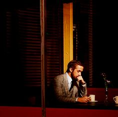 "ryan-gosling- ""Hey girl, leave me alone until I've had my second cup."""