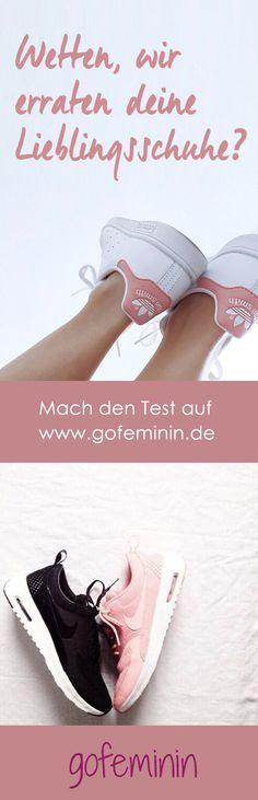 Psycho-Test mal anders: Wetten, wir erraten deine Lieblingsschuhe? http://www.gofeminin.de/styling-tipps/test-lieblingsschuhe-s1521417.html